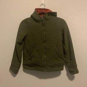 LL Bean Boys Size 8 Small Coat Jacket Gr…